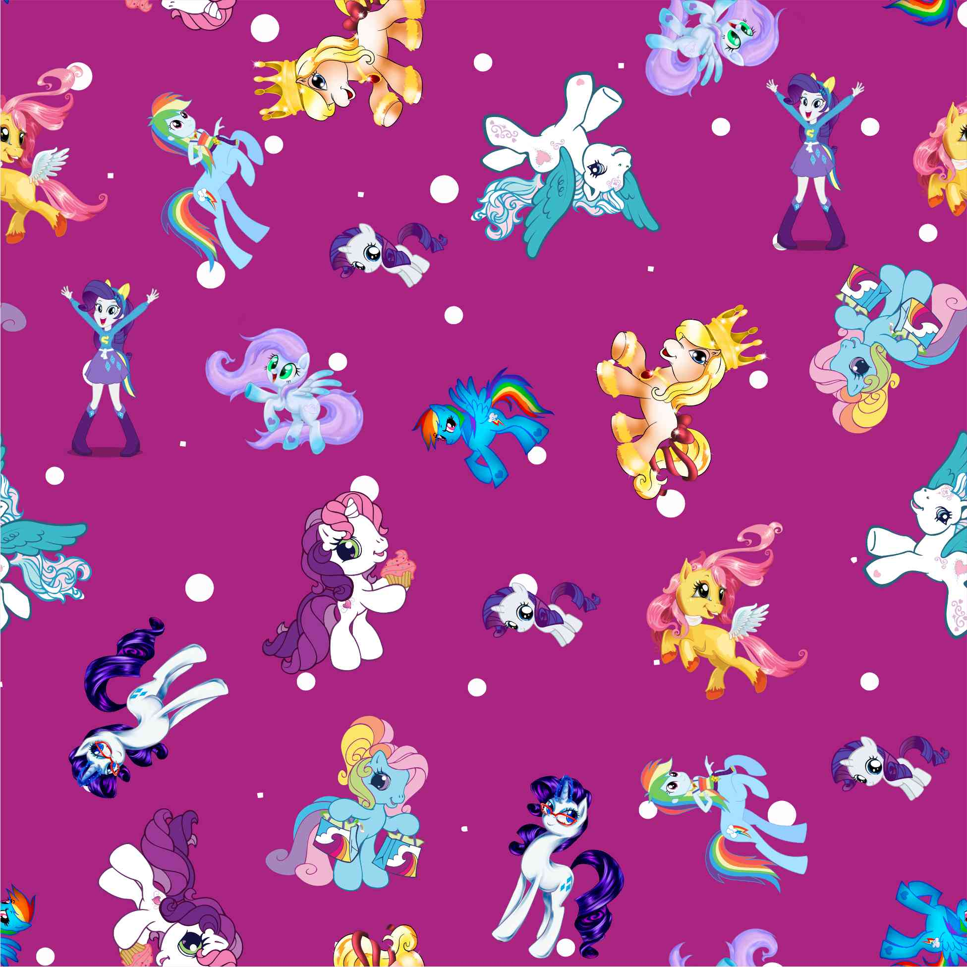 Pic of My Little Pony transfer pattern